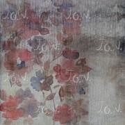Weave effect- Flowery field of jute